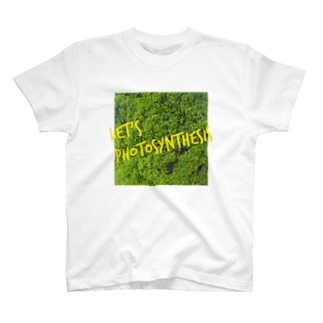 LET'S PHOTOSYNTHESIS(黄色字) T-shirts
