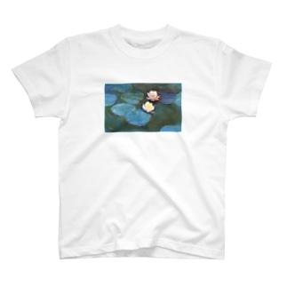 クロード・モネ / 睡蓮 / 1897/ Claude Monet / Water Lilly T-shirts