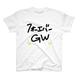 フォーエバーGWTシャツ T-shirts