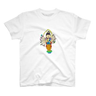仏像シリーズ T-shirts