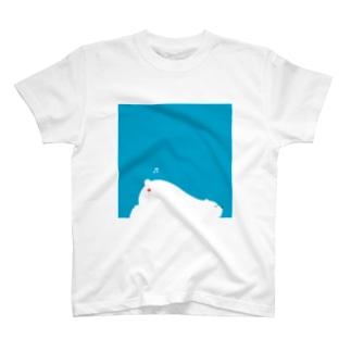 夏(シロクマ) T-shirts