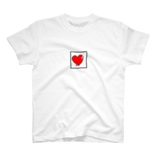 ハートに刺さる T-shirts
