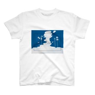 青に染まるまでⅡ T-shirts