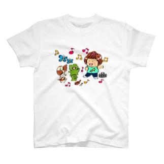 小動物ダンス隊 T-shirts