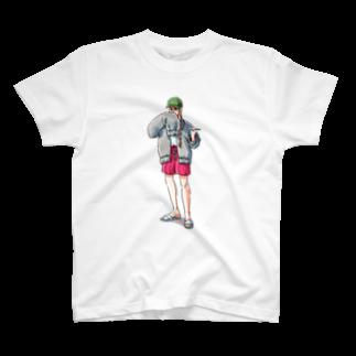 mayuko tanakaのプール監視員 T-shirts