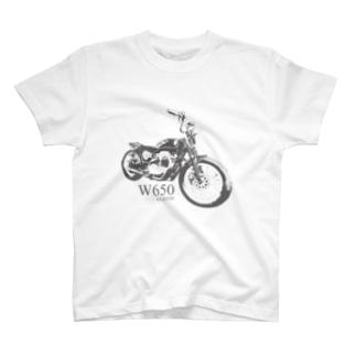 W650 T-shirt T-shirts