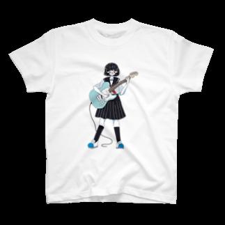 ぷんつくりーのテレキャスJK T-shirts