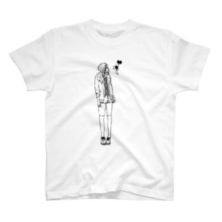 1人と1匹 T-shirts