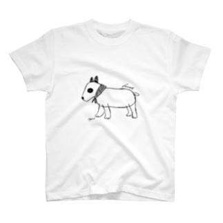 ブルテリアのフィーカ T-shirts