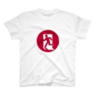 日本脱出 T-shirts