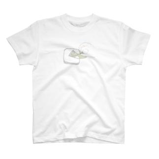 1万円をはんぺんにそろり。 T-shirts