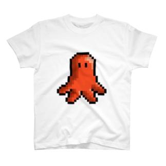 ドット絵タコウインナーくん T-shirts