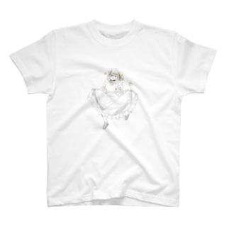 メイドポチ T-shirts
