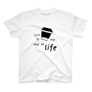 テイクアウトカップ T-shirts