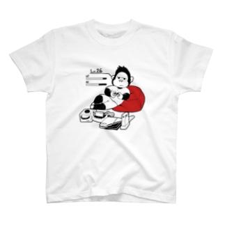 ゲームするゴリラ T-shirts