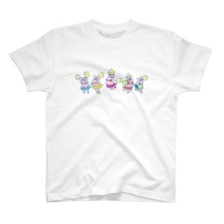 ぶたちあ T-shirts