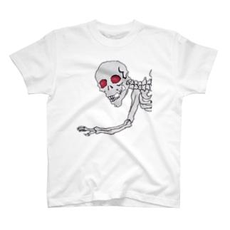 がしゃどくろ(両面) T-shirts