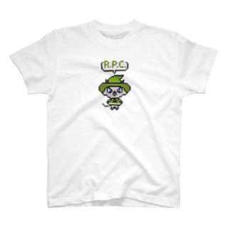 R.P.C.(ドット)まほうつかい T-shirts