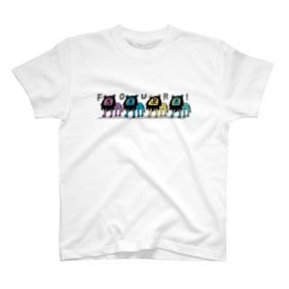 ライオンフォー! T-shirts
