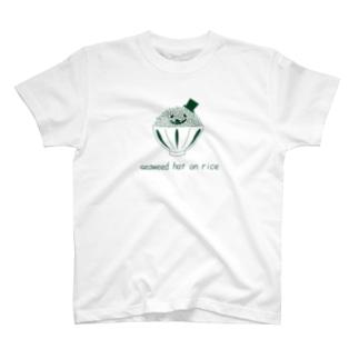 焼き海苔ハットのごはんさん T-shirts