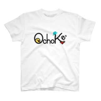 OchoKeのロゴT・ポジ T-shirts