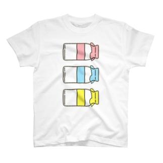 ぎゅうにゅうびん T-shirts