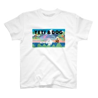 イエティ in the 銭湯  T-shirts