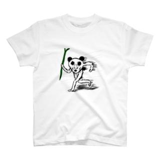 走るゴンザレスくん T-shirts
