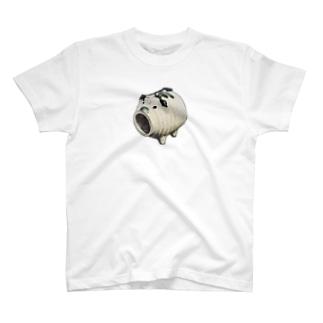スーパー豚ちゃんマン(絵だけ) T-shirts