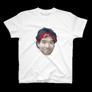 大帝ポペの池崎さん画質不良ver T-shirts