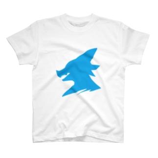 K-LINE Blue T-shirts