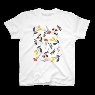 ▷            chiroruのo h a n a T-shirts