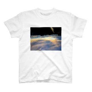 夕空に落ちる T-shirts