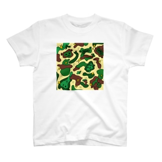 MONKEY CAMO T-shirts