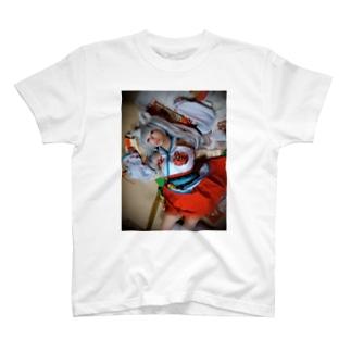 童貞の妄想によるちせの押し倒しTシャツ T-shirts