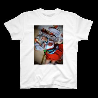 ちせ🍼のプレイルームの童貞の妄想によるちせの押し倒しTシャツ T-shirts