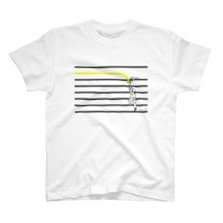 ペンキぬり-きいろ- T-shirts