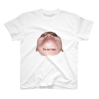 日が昇る T-shirts
