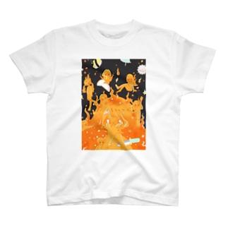 キャンプ荼毘Tシャツ T-shirts