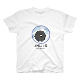 記憶力が霞の毛玉 T-shirts