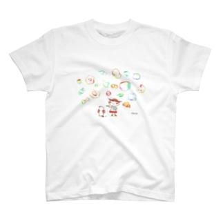 シャボン玉 T-シャツ T-shirts