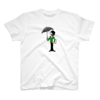 ふうさんさんぽ雨上がり T-shirts