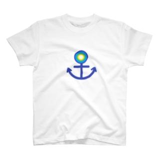 anchor⚓️blue T-shirts