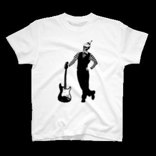 KEIのPIERROT T-shirts