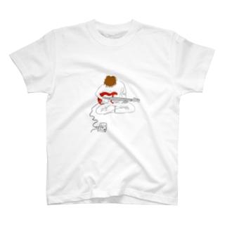 kaeritainaのmucyu T-shirts
