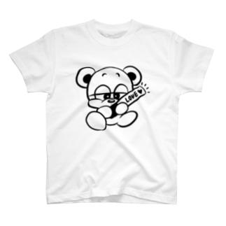 推しクマくん T-shirts