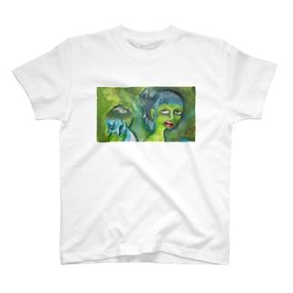 他人ごっこのふたり T-shirts
