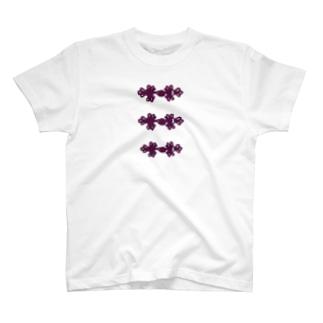 チャイナボタン T-shirts