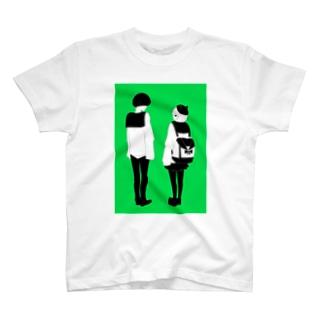 マッシュ君とボブちゃん T-shirts