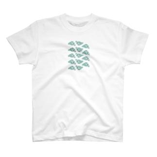 空色のクロワッサン T-shirts